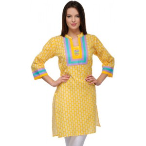 Casual 3/4 Sleeve Printed Women's Kurti
