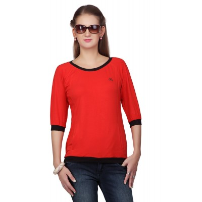 Women Cotton Solid Top