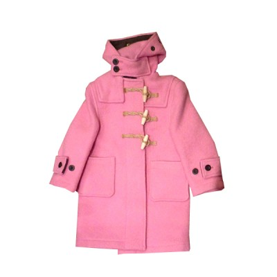 Pink Platinum Ruffle Trench Jacket