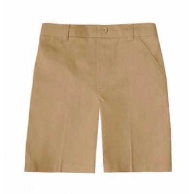 Cuffed Twill Bermuda Shorts
