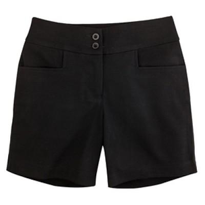 High-Waisted Knit Shorts