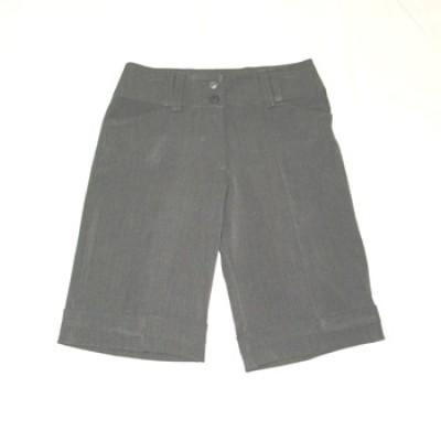 Solid Bermuda Shorts